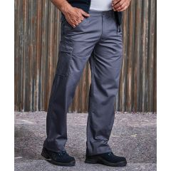 Russell Polycotton Twill Trousers 001M