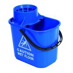 Mop Bucket & Wringer Blue 1 X 15ltr | WQ15BU