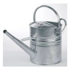 Watering Can Galvanised [no Rose] | W/CAN/GALV'D