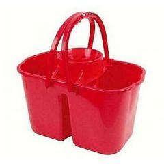 Double Mop Bucket & Wringer Red 15ltr | LK018RE