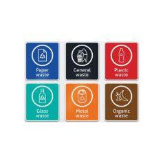 Robert Scott Recycling Sticker A4
