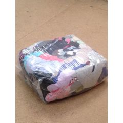 Mixed Coloured Cotton Rags 10kg Box | WIP-10