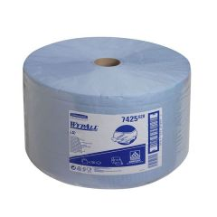 Wipers Wypall L40 3ply Blue Roll X1 | KC7426
