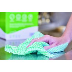 All Purpose Green Wipes In Box Of 200 | 100247