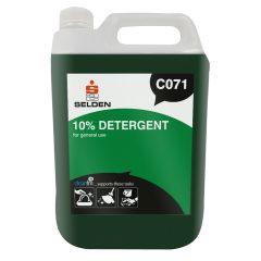 Selden 10% Detergent Dishwash 1 X 5 Ltr