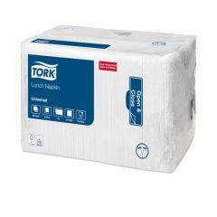 Napkins 1ply White 33cm 4500/case | K33113