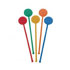 Flatball Stirrers Mixed Colours 1x250 | CTS-C