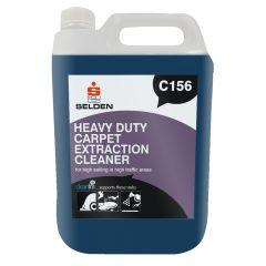 Selden H/duty Carpet Ex/cleaner 1 X 5ltr   C156