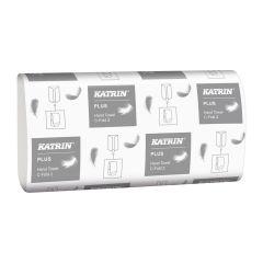 Katrin C Fold 2ply White Towel X 2400 | 34438