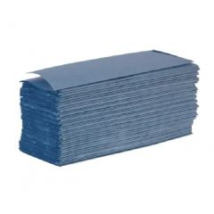 Hand Towel Interfold 1ply Blue X 3600 | 3600B/1