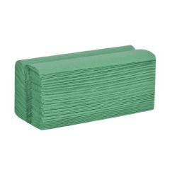 Hand Towel C Fold 1ply Green X 2880 | HKG127
