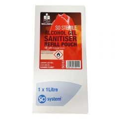 So System Sterile Alcohol Gel 3 X 1ltr | C053-1LTR